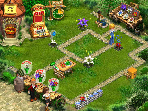 Flower Shop - Big City Break ภาพตัวอย่าง 03