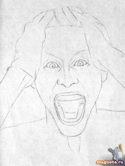 Картинки для срисовки джокер отряд самоубийц 10