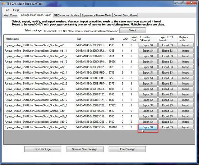 [Apprenti] TS4 Mesh Tools : Export et Import de fichier pour la modification de mesh Ybq2nle891ylficzg
