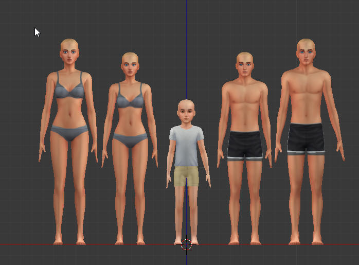 teen bodies for sims 4