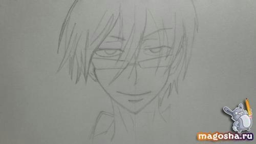 Учим рисовать Цубаки слугу-вампира