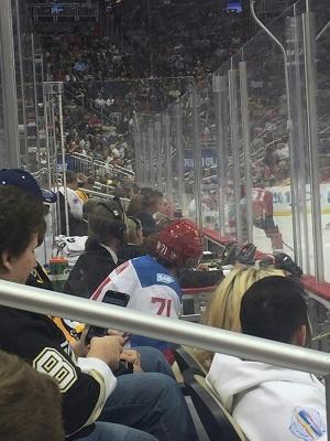 Meg Harding - Checking It Twice, Hockey 03