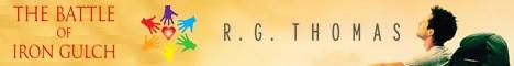 R.G. Thomas - The Battle of Iron Gulch Headerbanner