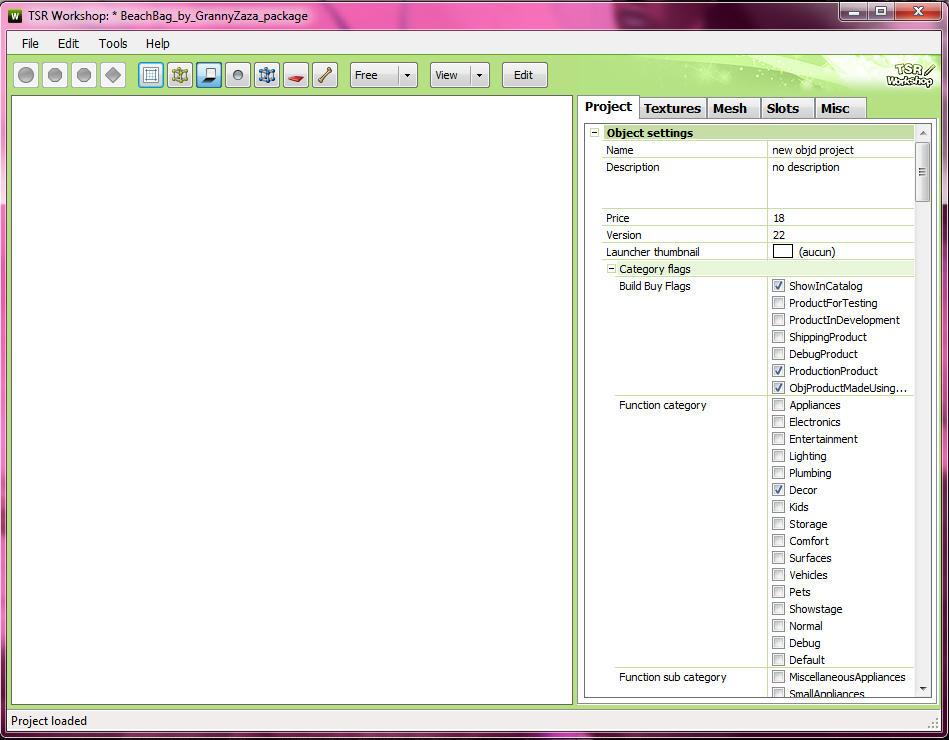 [Débutant] Manipuler TSRW - Convertir un fichier Sims3pack en fichier Package 05pbbvs78a9bo3kzg
