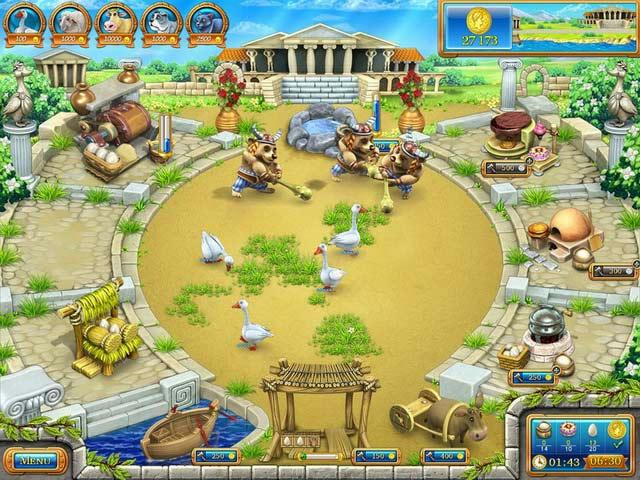 Farm Frenzy - Ancient Rome ภาพตัวอย่าง 01