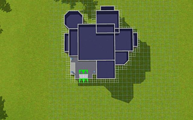 [Débutant] - Du carré à la maison victorienne - La maison bleue 4jurlh10ye8ou5yzg