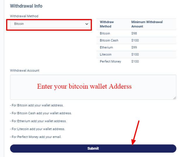 How do I earn Bitcoin on cryptoshrink