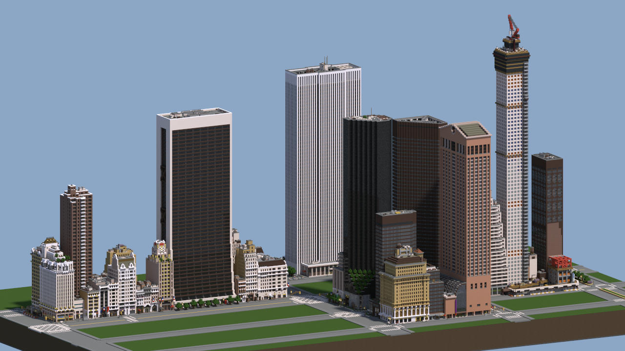 Midtown Manhattan New York City Download V2 2 Minecraft