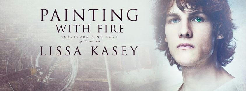 Lissa Kasey - Painting With Fire Banner