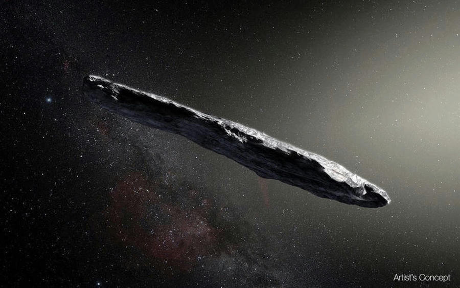 Científicos dicen que asteroide interestelar Oumuamua parece un cigarro