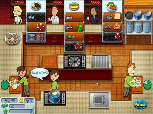 Kitchen Brigade ภาพตัวอย่าง 01