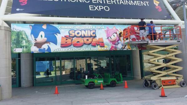 تابلو Sonic Boom