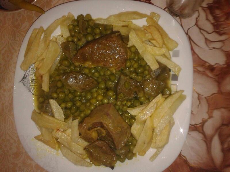 ****بوريه محشية باللحم المفروم طاجين الجلبانة مطبخي تقاوم****