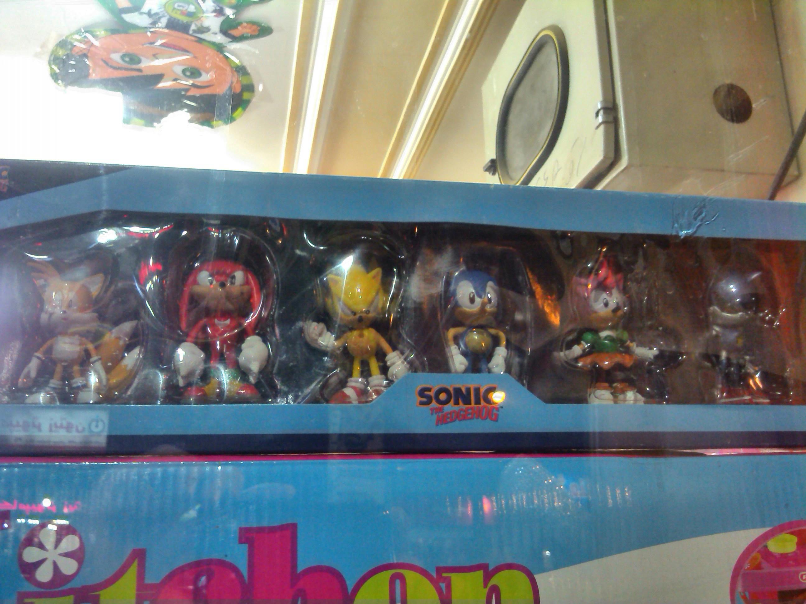 Sonic toys!