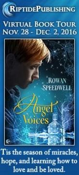 Rowan Speedwell - Angel Voices Badge