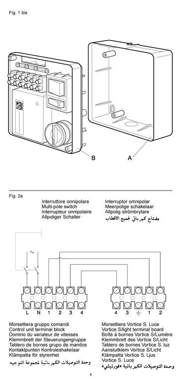 Schema Collegamento Aspiratore Vortice : Come montare ventilatore a soffitto con comando muro