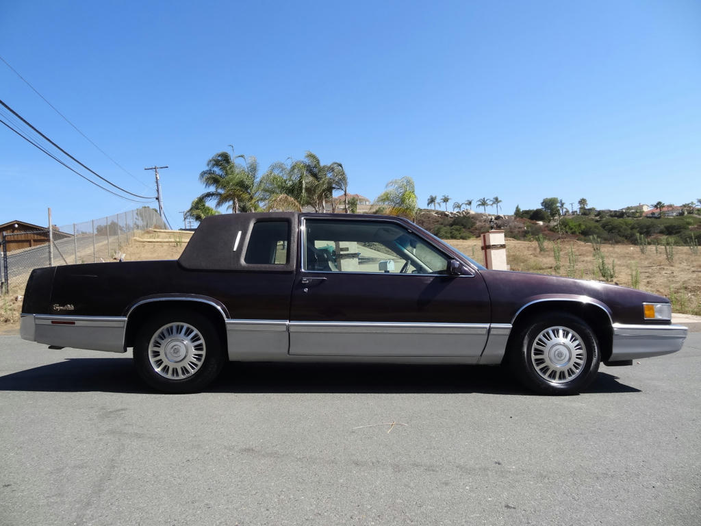 buy used 2 owner cadillac coupe deville sedan 4 9l v8 85k original miles de ville dts etc in san. Black Bedroom Furniture Sets. Home Design Ideas
