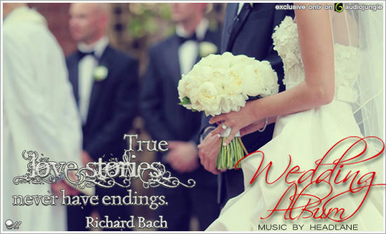 wedding, wedding album, audiojungle, authors, Headlane, exclusive, music