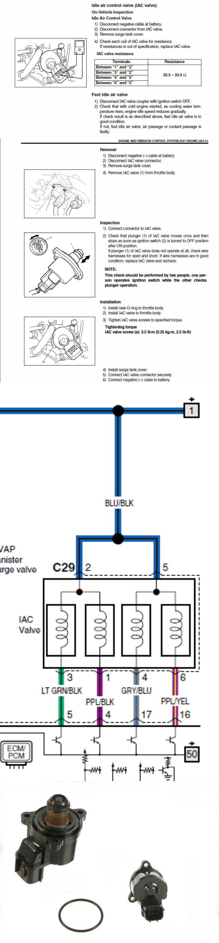 Idle Air Control Valve - Suzuki Forums: Suzuki Forum Site  Liberty Iac Wiring Diagram on iac connector diagram, iac sensor, iac parts diagram,
