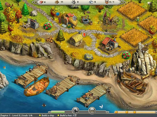 Viking Saga - New World ภาพตัวอย่าง 01