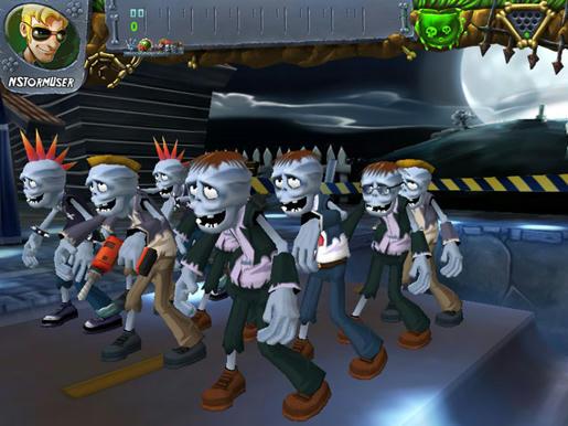 Zombie Bowl-O-Rama ภาพตัวอย่าง 03