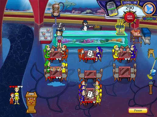 Diner Dash - Flo on the Go ภาพตัวอย่าง 02