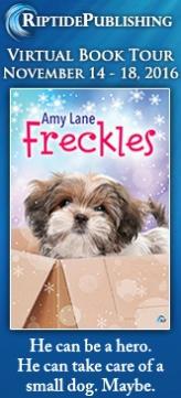 Amy Lane - Freckles Badge