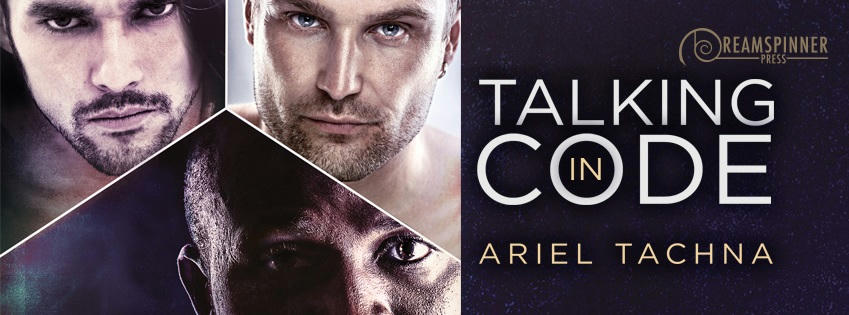 Ariel Tachna - Talking in Code Banner