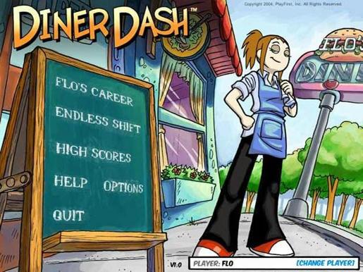 Diner Dash ภาพตัวอย่าง 01