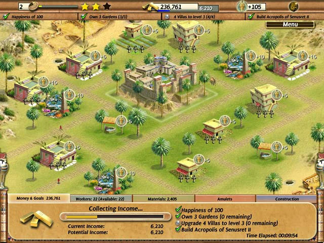 Empire Builder - Ancient Egypt ScreenShot01