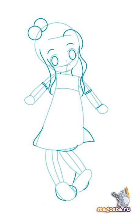 Как рисовать принцессу дисней карандашом поэтапно