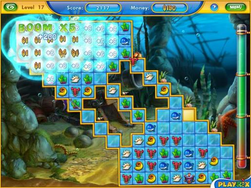 Fishdom 2 ภาพตัวอย่าง 03