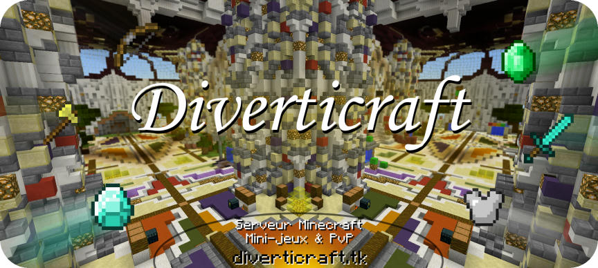 Serveur Minecraft Diverticraft