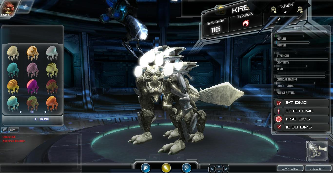 [Darkspore] The DarkSPORE Creature Editor 4begl1sxfrx9kjjzg