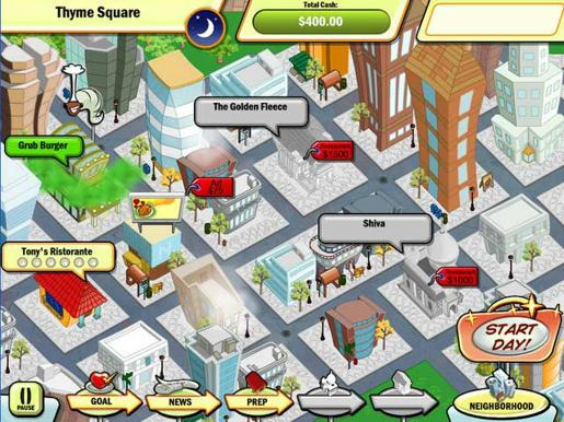 Diner Town Tycoon ภาพตัวอย่าง 01