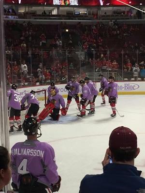 Meg Harding - Checking It Twice, Hockey 01