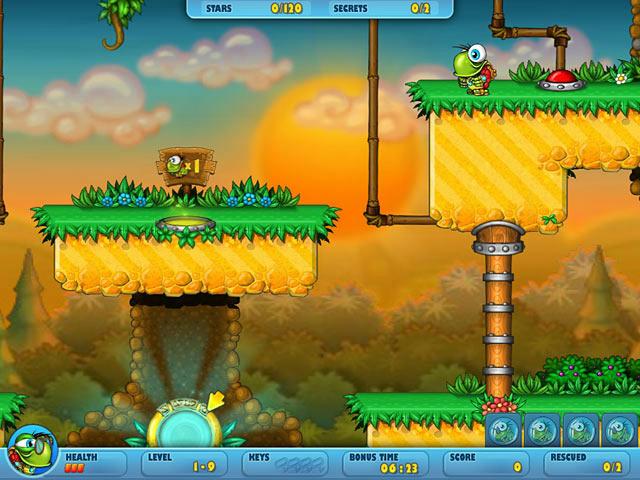 Turtix 2 - Rescue Adventures ScreenShot02