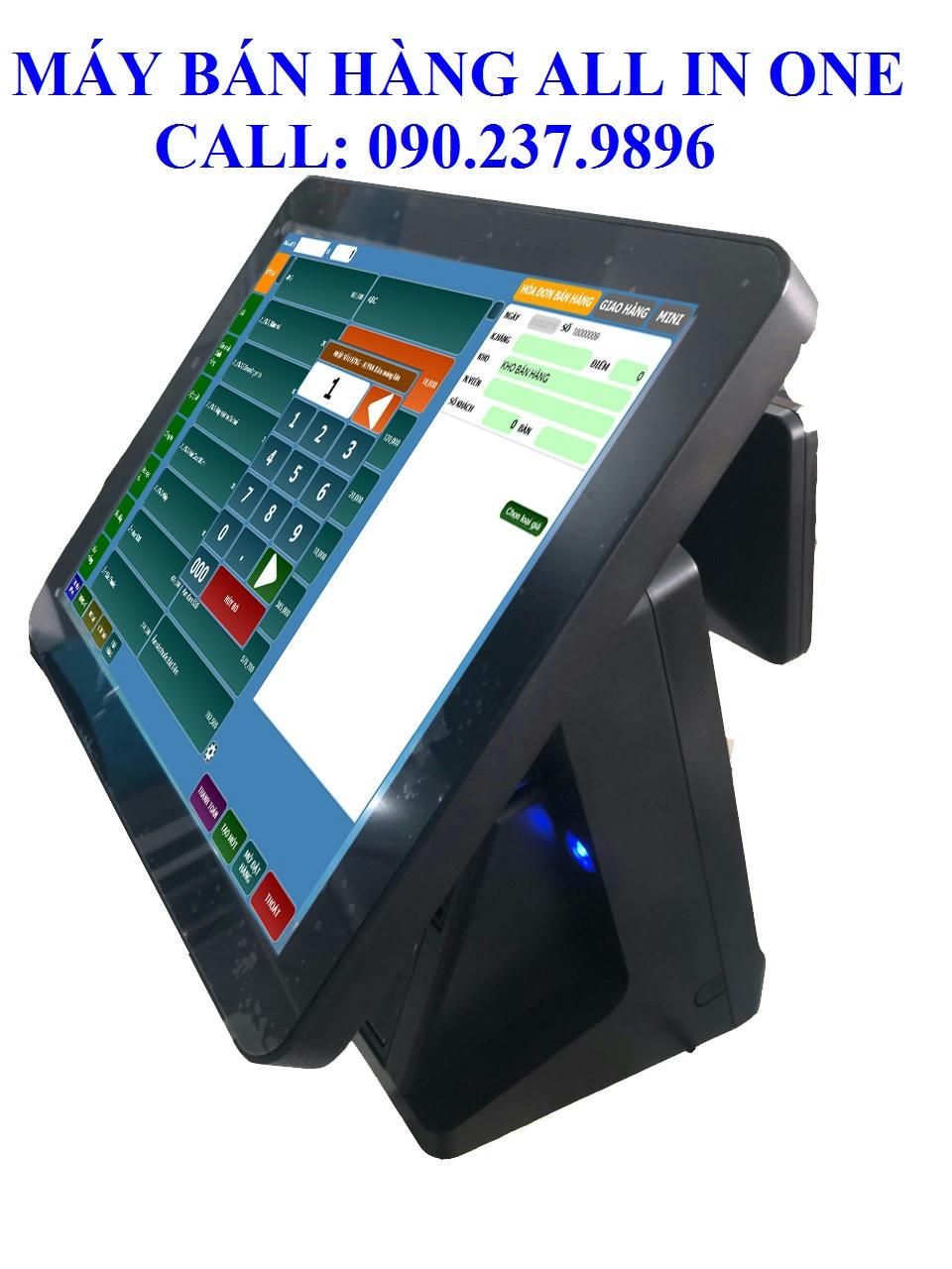 Bộ máy tính tiền all in one cho quán cafe tại Tiền Giang