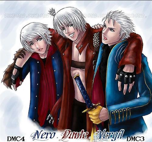 Dante & Vergil & Nero