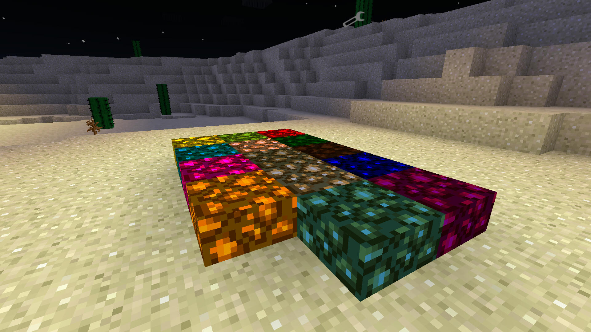 Colored glowstone mod v2 by eaglerex for Decoration mod mcpe 0 14 0