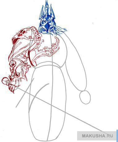 Рисунки для срисовки меч