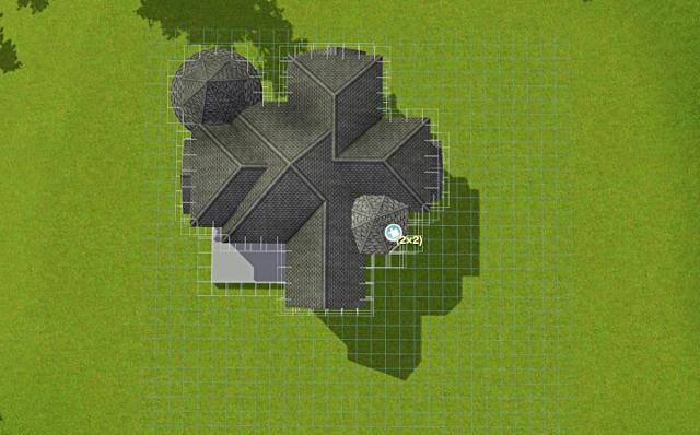 [Débutant] - Du carré à la maison victorienne - La maison bleue 7hiyq7d3l0m6942zg