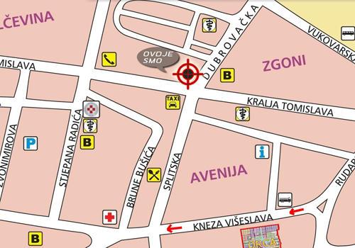 karta gimnazija fra grge martica
