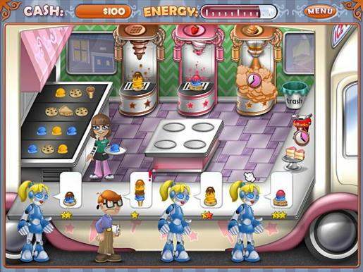 Ice Cream Craze - Tycoon Takeover ภาพตัวอย่าง 01