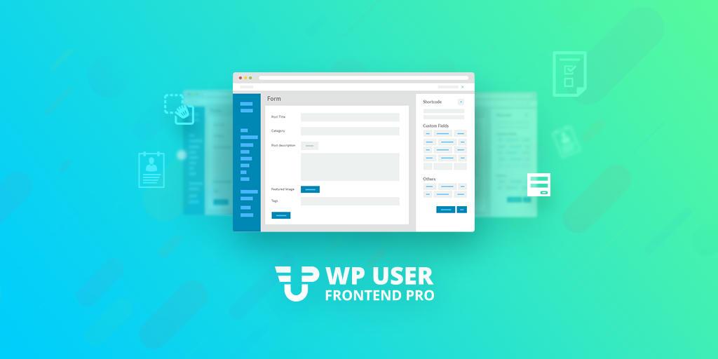 افزونه افزودن مطلب توسط کاربر WP User Frontend Pro