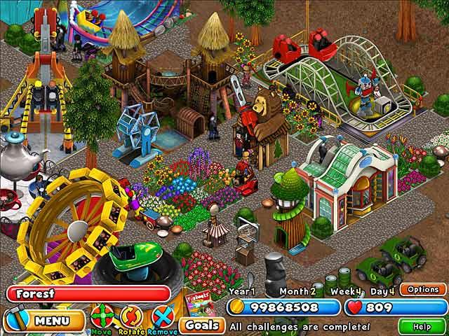 Dream Builder - Amusement Park ภาพตัวอย่าง 02