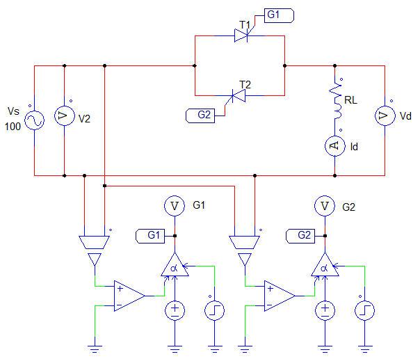 Mạch biến đổi điện áp xoay chiều 1 pha