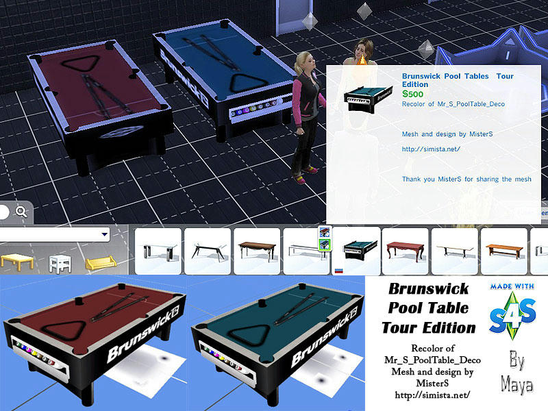 Brunswick Pool Tables Tour Edition