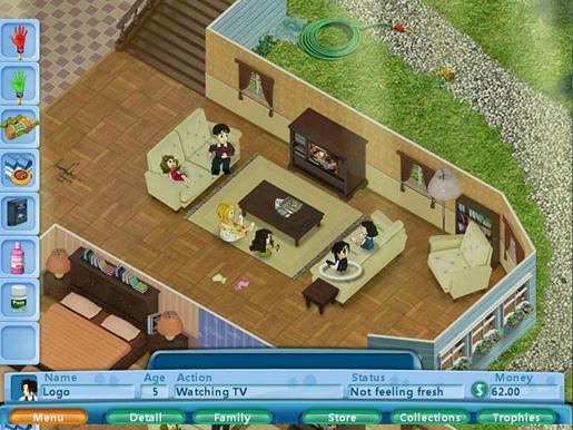 Virtual Families ภาพตัวอย่าง 02