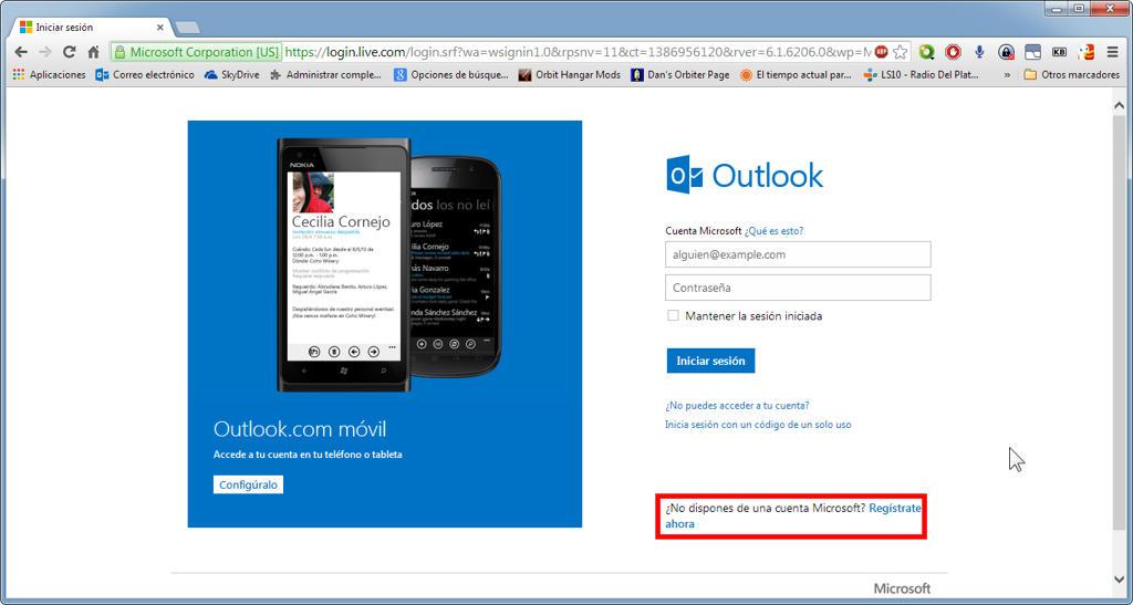 De todo un poco: Cómo crear un correo electrónico Outlook/Hotmail